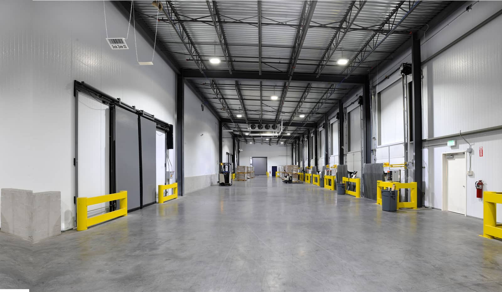 Warehouse lighting installed by Constellation Lighting